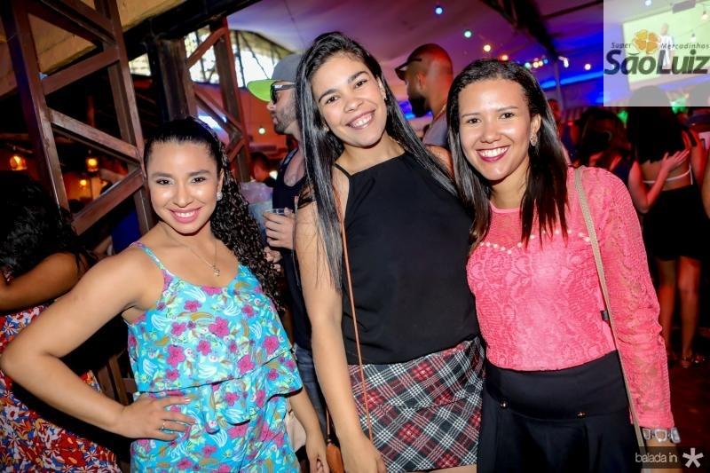 Josiane Sousa, Gisele Simoes e Sandy Lima