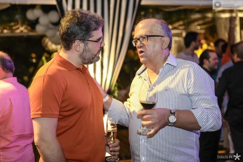 Edson Queiroz Neto e Fernando Ximenes