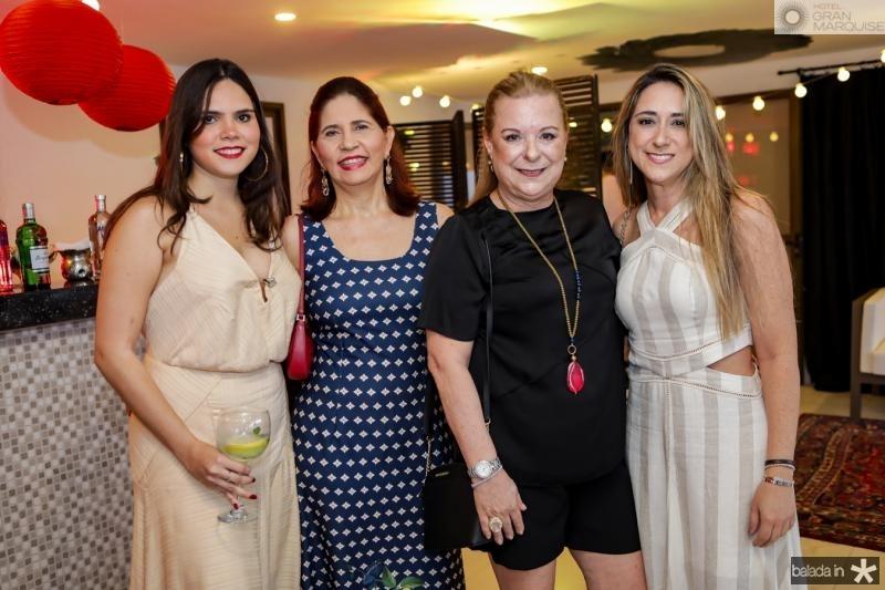 Elena Rosado, Beth Rosado, Stela e Ticiana Romcy