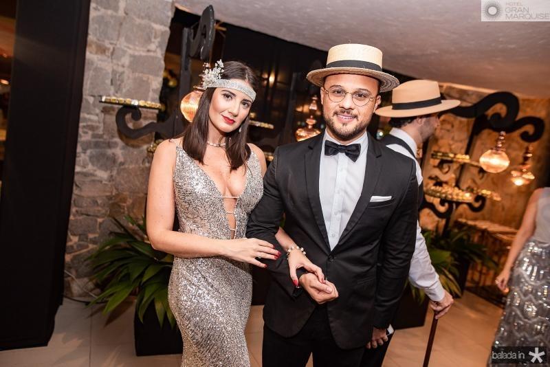 Roberta Borges e Matheus Teles