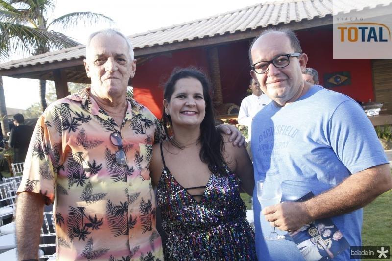 Tadeu Gomes, Gisele Machado e Ricardo Freitas