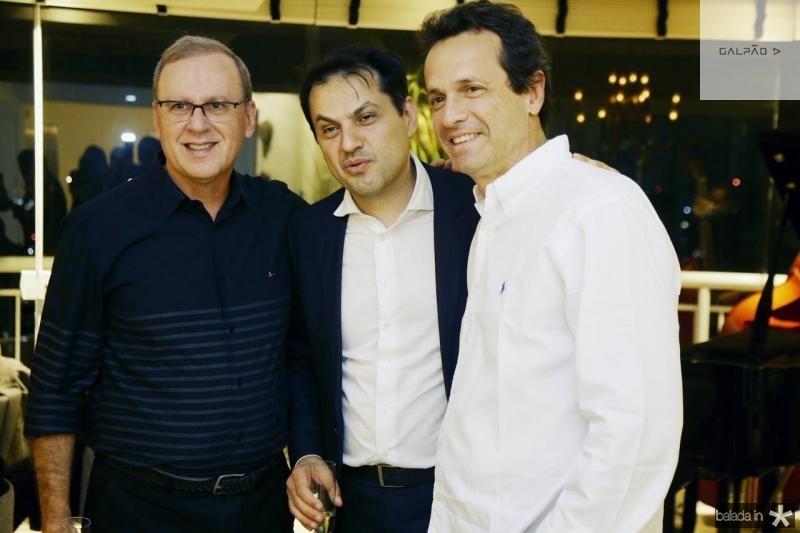 Carlos Moreira, Mauricio Maia e Sergio Pimentel