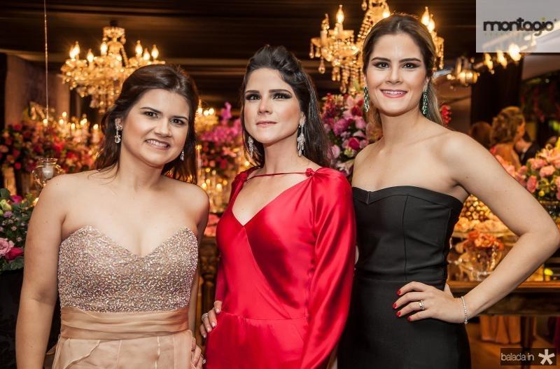 Ticiana Brigido, Marilia Vasconcelos e Camile Carneiro