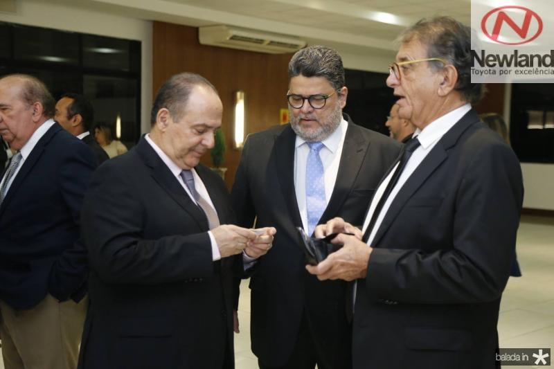 Geraldo Rocha, Colombo Cialdini e Arialdo Pinho