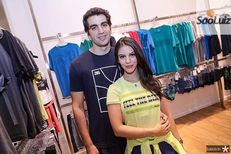 Rafael Nogueira e Manuela Rolim