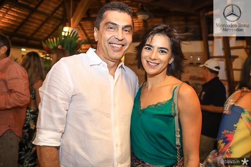 Idezio e Mariana Rolim