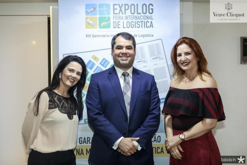Marcia Montenegro, Tiago Furtado e Enid Camara