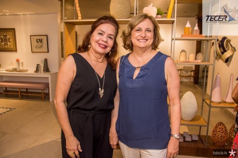 Katia Nobre e Beatriz Diogenes