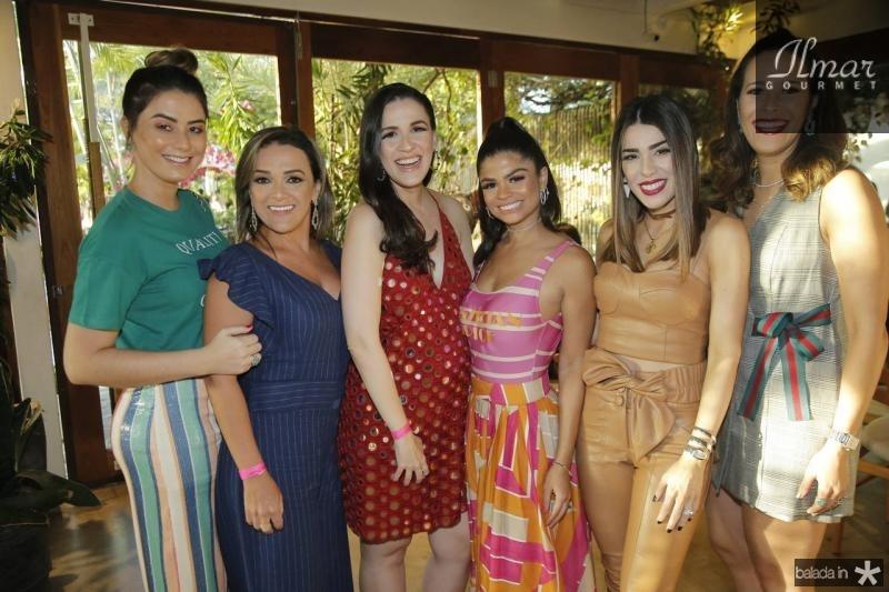 Mariana Pimenta, Mariela Gondim, Juliana Botelho, Isabel Timoteo, Juliana Cordeiro e Rebeca Souza