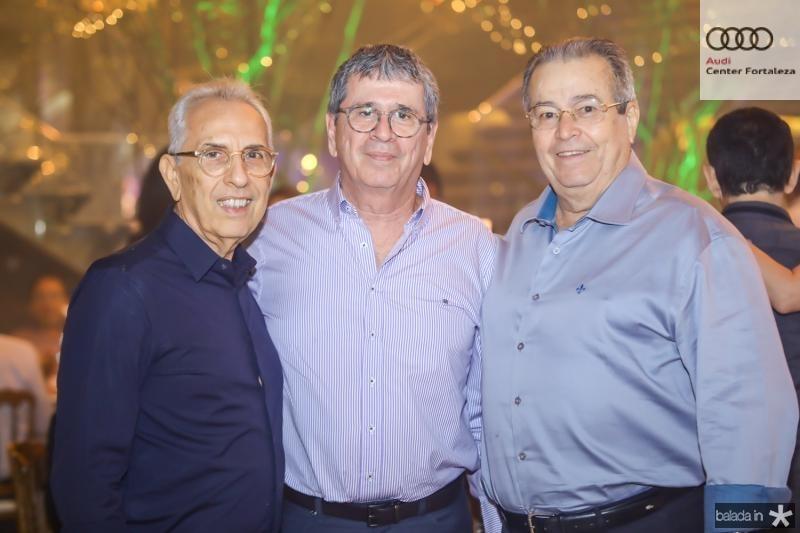 Paulo Ponte, Marcio Tavora e Meton Vasconcelos