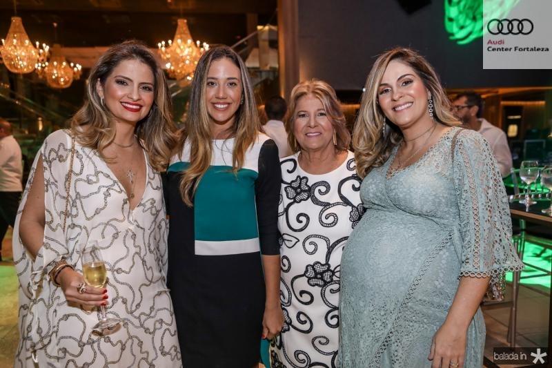 Janaina Mota, Gabriela Albuquerque, Ana Lucia e Mariana Mota
