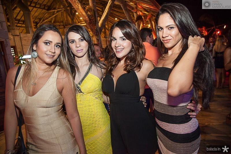 Fernanda Pinho, Juliana Caiade, Rafaela Brasil e Lara Lins