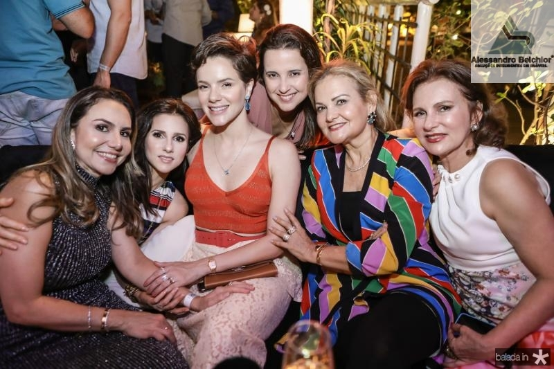 Adriana Queiroz, Carla Oliveira, Paulinha, Viviane e Lenise Rocha, Renata Jereissati