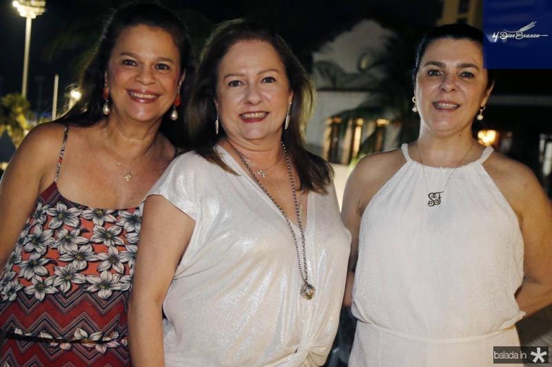 Marilia Esteves, Cristina Aragao e Silvinha Fiuza