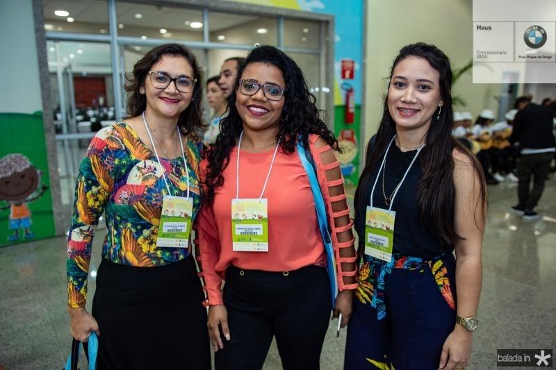 Glauciane de Oliveira, Francisca Lisboa e Jeiciane Rodrigues
