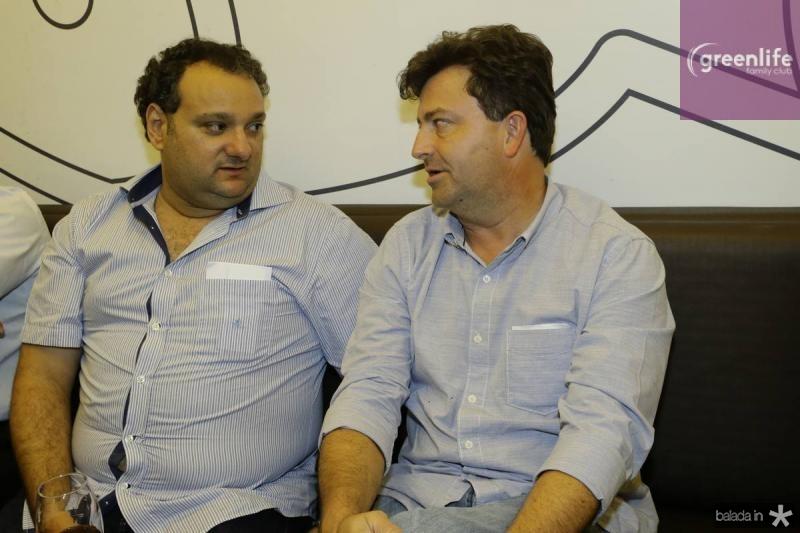 Patriolino Dias e George Vieira