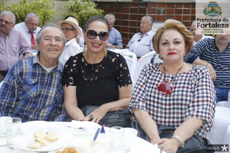 Pedro Gomes de Matos, Magda Busgaib e Alessandra Aragao