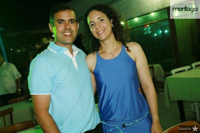 Rodrigo Sales e Sofia Negreiros