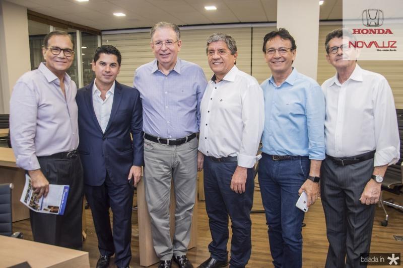 Beto Studart, Pompeu Vasconcelos, Ricardo Cavalcante, Sampaio Filho, Francilio Dourado e Augustinho Alcantara