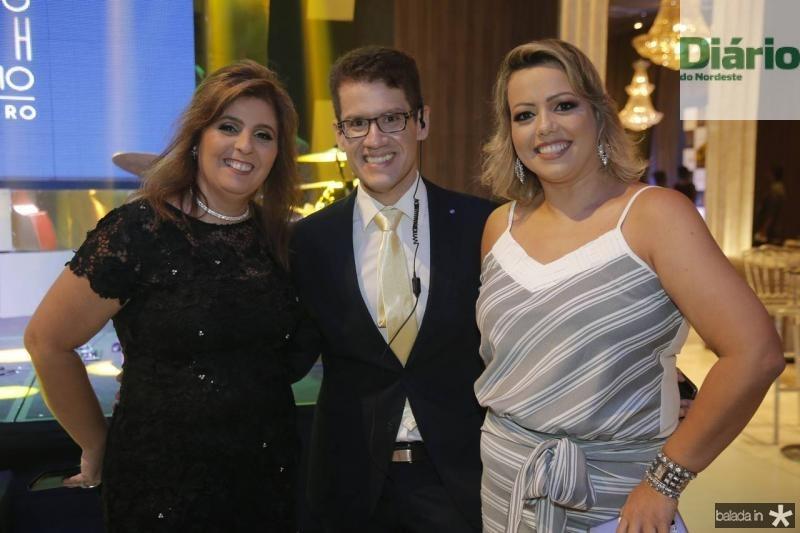 Valeria Manarinno, Marcelo Rocha e Glicia Abreu