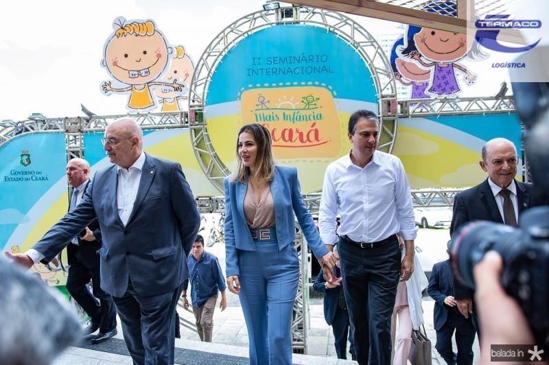 Osmar Terra, Onelia Leite e Camilo Santana e Lelo Coimbra