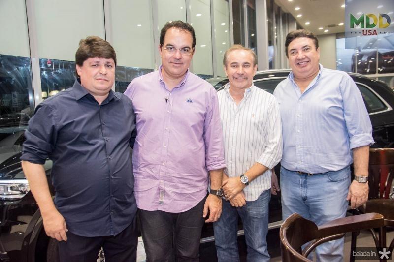 George Lima, Leonardo Albuquerque, Arcelino Mentor e Marcos Dias Branco
