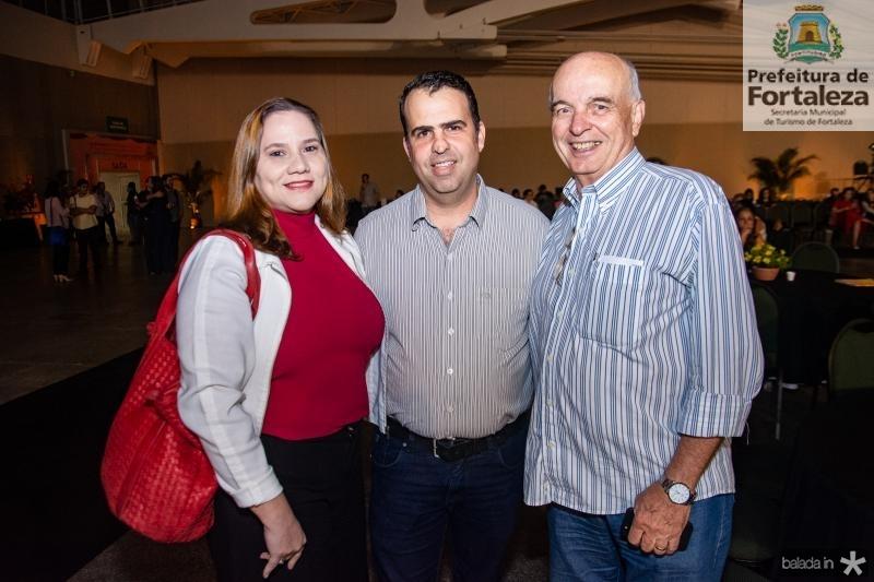 Sandra Aragao, Rodrigo Caldas e Fernando Mota
