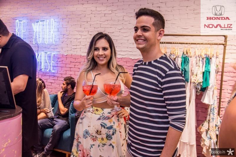 Lidia Abreu e Junior Matos