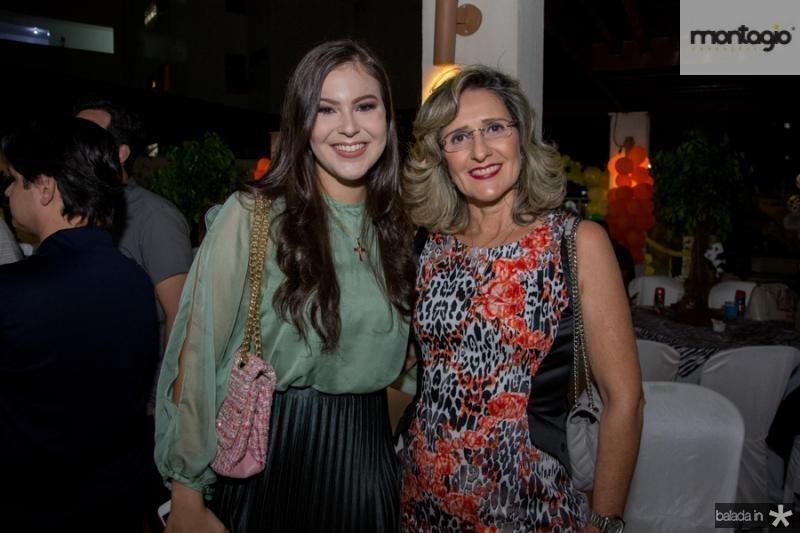 Gabriela Tavares e Gevilda Freitas
