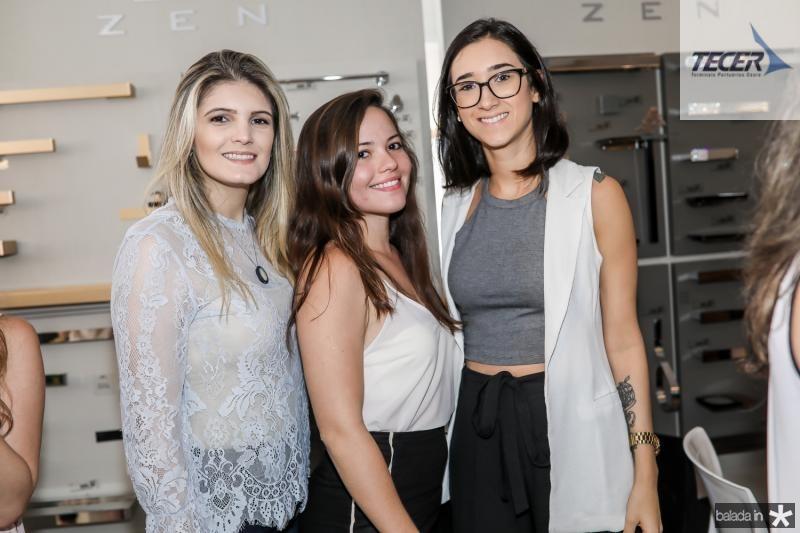 Gabriele Ximenes, Marcela Arruda e Eloa Bessa