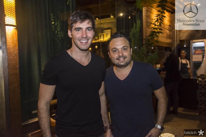 Alcir Araujo e Bolivar Goncalves