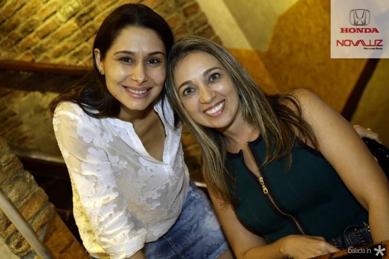 Livia Leite e Licia Vasconcelos