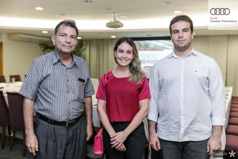 Fernando Castro Alves, Mariana Pontes e Paulo Salim
