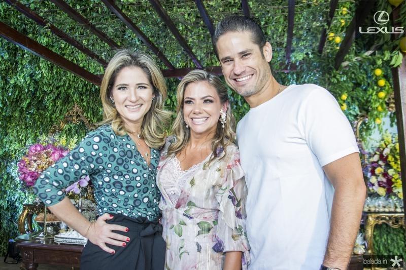 Patriciana Rodrigues, Vanessa Queiros e David Rodrigues