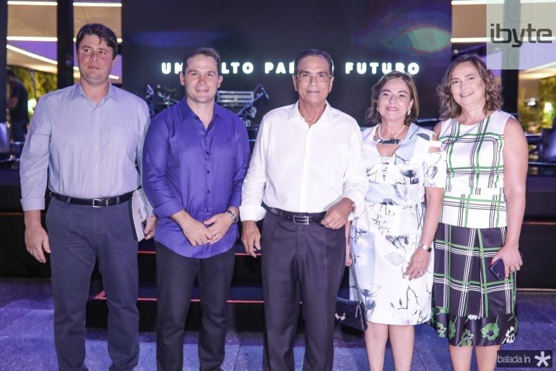 Ricardo Ary, Fabio Albuquerque, Beto e Ana Studart, Renata Santiago