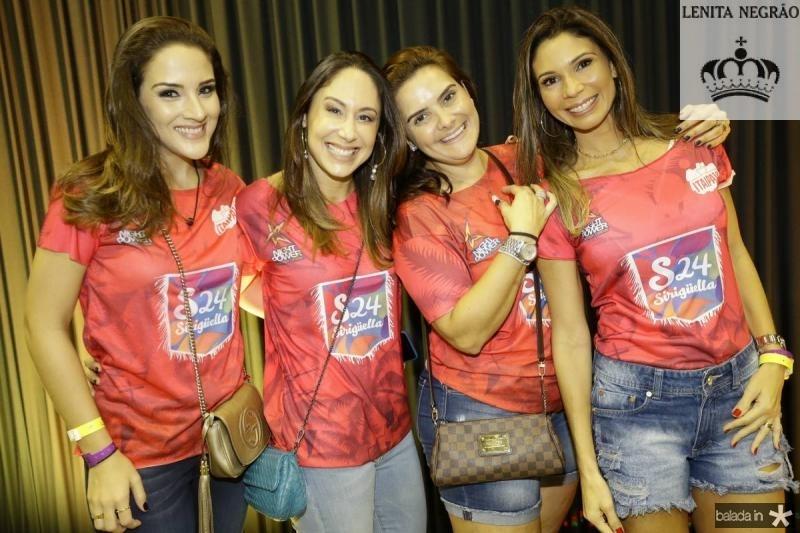 Natalia Marques, Larissa Coelho, Ira Frota e Renata Cabral