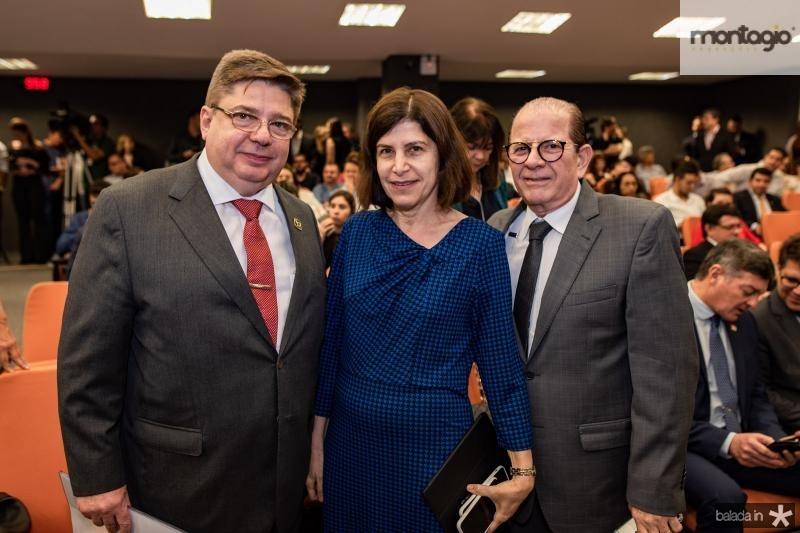 Raul Araujo, Marieta Araujo e Otavio Miranda