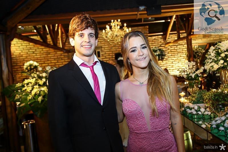 Raimundo Neto e Violeta Fonseca