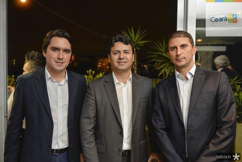 Fernando Castelo Branco, Adriano Damasceno e Marco Bordon