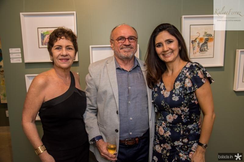 Lilia Quindere, Vando Figueiredo e Luciana Cidrao