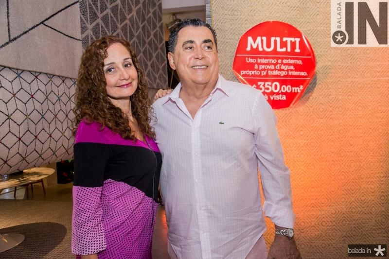 Michele Aguiar e Adroaldo Carneiro