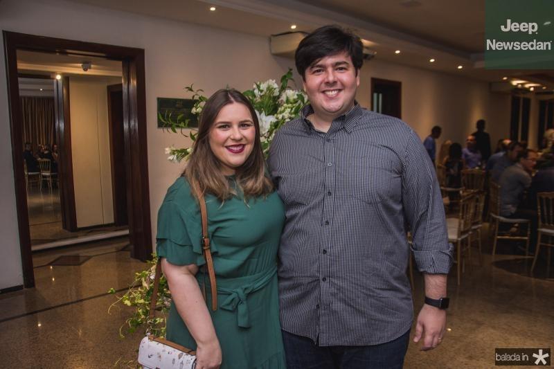 Carolina Feitosa e Roberto Mota