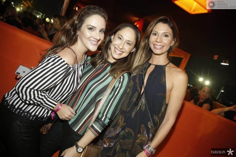 Natalia Marques, Larissa Coelho e Renata Cabral