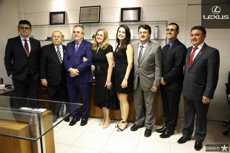 Assis Junior, Idalmir Feitosa, Assis e edna Cavalcante, Rafaela Siqueira, Benigno Junior, Andre Cavalcante e Jose Porto