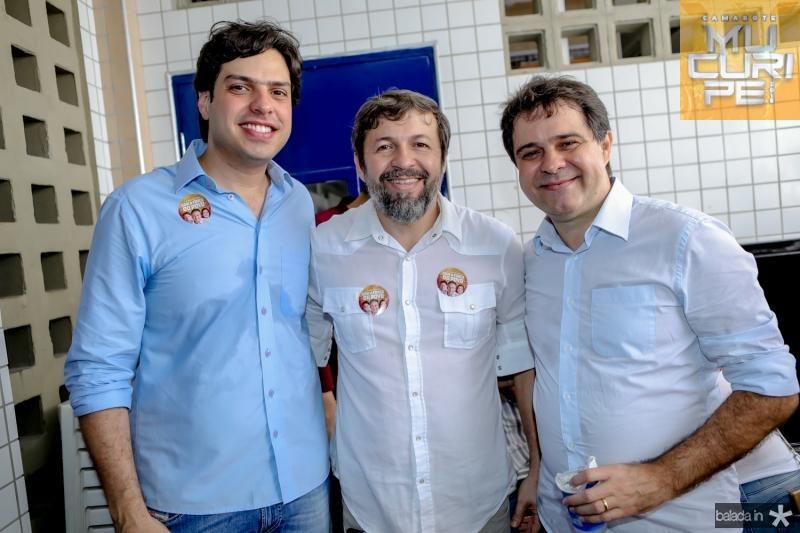 Antonio Jose Albuquerque, Elcio Batista e Helio Leitao