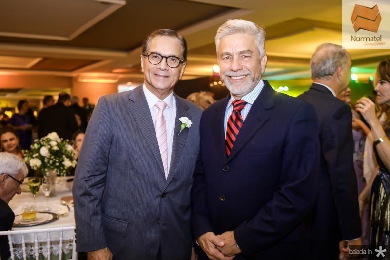 Beto Studart e Eugenio Pontes