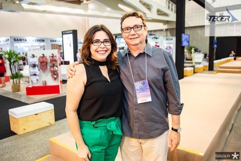Roberta Cavalcante e Carlos Rubens