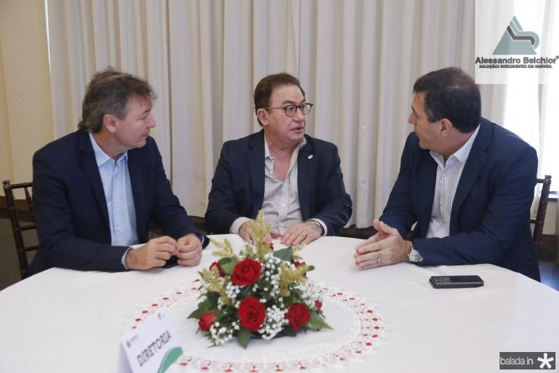 Mauricio Filizola, Manuel Linhares e Luiz Gastao 2