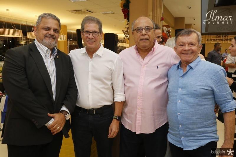 Jorge Bagdeve, Severino Netro, Victor Hugo e Edilmo Cunha