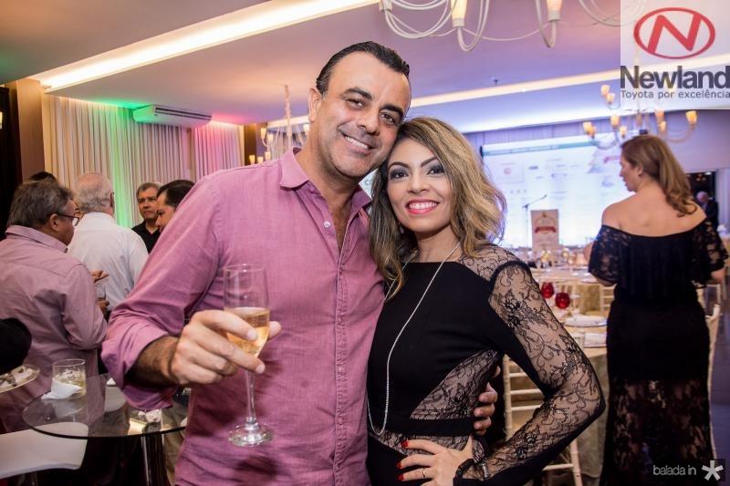 Francisco Capela e Fabiana de Francesco